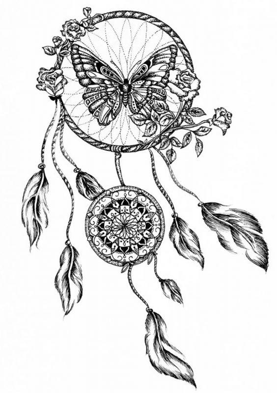 Сублимации Бабочка чёрнобелая