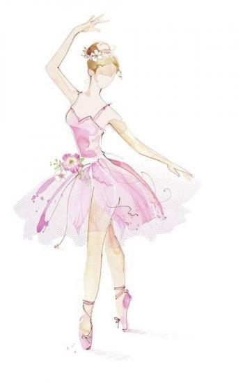 Сублимация девочка балерина танцует