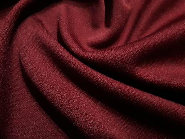 Подкладка трикотажная цвет бордо тёмный (черри)