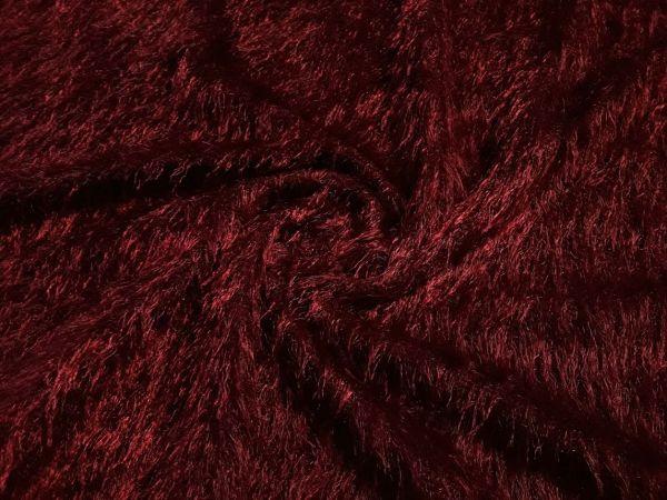 Трикотаж травка цвет бордо
