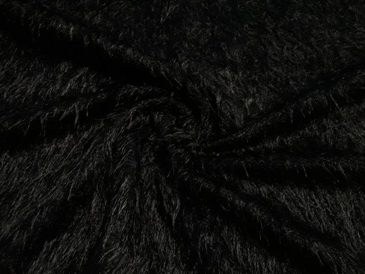 Трикотаж травка цвет чёрный