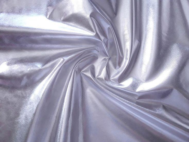 Плащёвка фольга цвет серебро