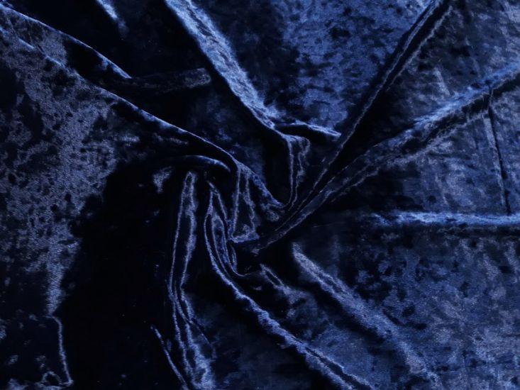 Велюр мраморный цвет тёмно синий