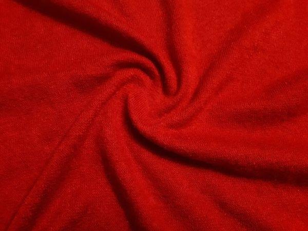 Трикотаж  ангора арктика цвет красный