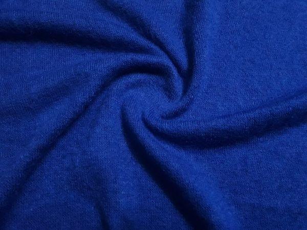 Трикотаж ангора арктика колір синій електрик