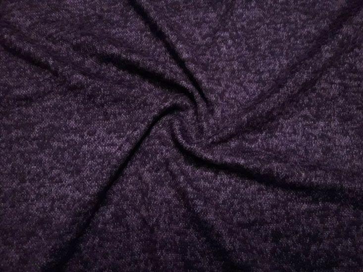 Ангора софт з  ворсом колір баклажан