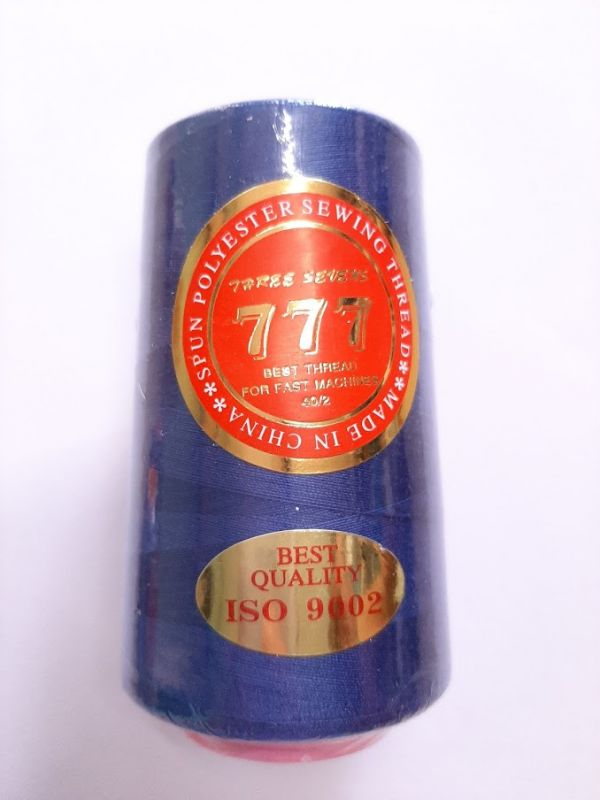 Нитки 777 цвет синий электрик 065