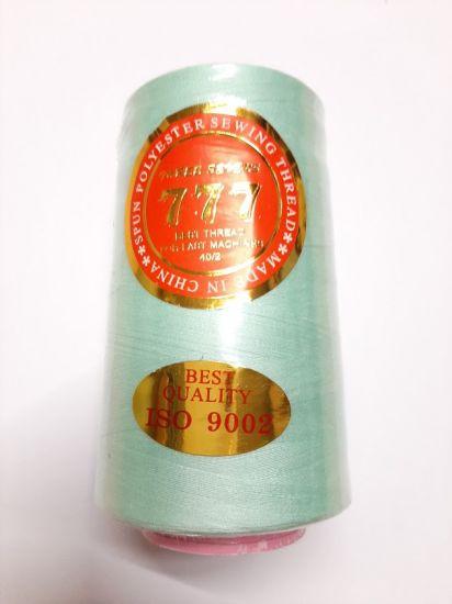 Нитки 777 цвет голубая мята (тиффани) 303