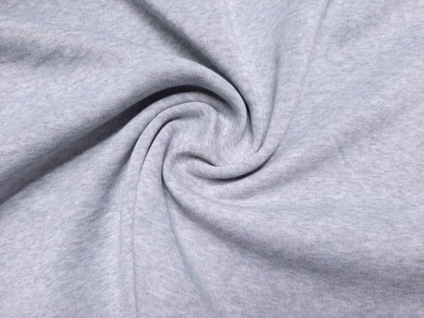 Трехнитка на флисе цвет серый меланж