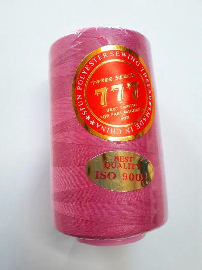 Нитки 777 цвет малиновый 005