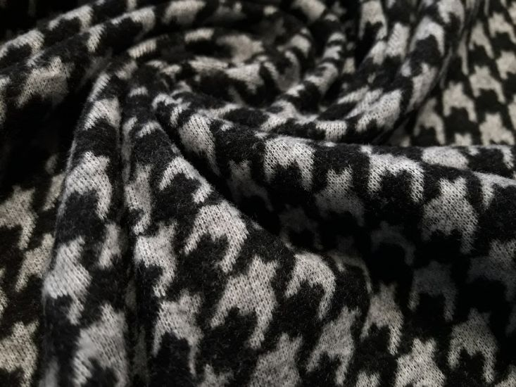 Трикотаж Алекс с ворсом гусиная лапка (размер лапки 1см) 3-1
