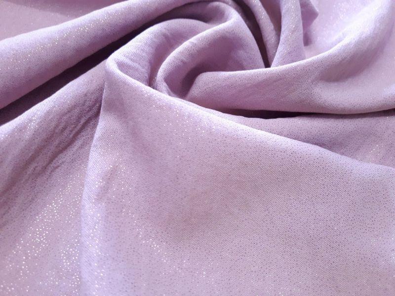 Американский креп люрекс цвет пыльная роза