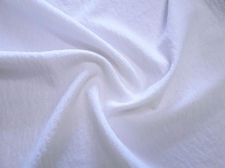Американский креп люрекс цвет бело-молочный