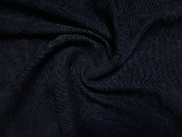 Микровельвет цвет чёрный