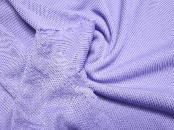 Трикотаж резинка мустанг цвет лиловый