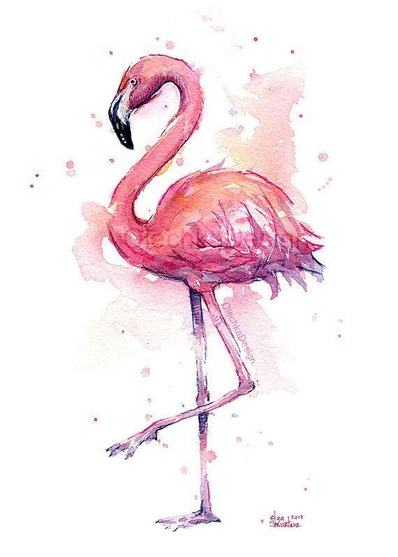 Сублимации фламинго 3