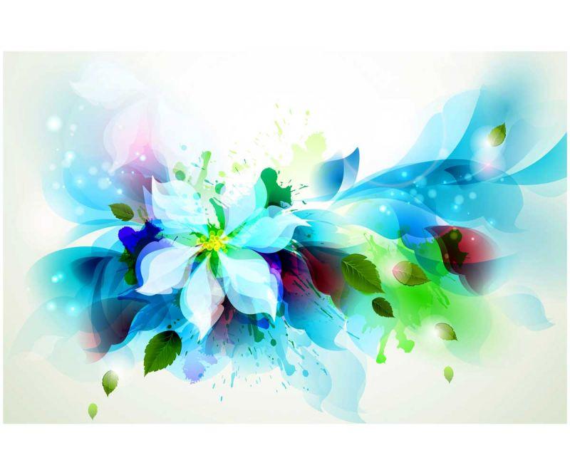 Сублимации Цветы рисунок 1