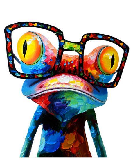 Сублимации лягушка очки
