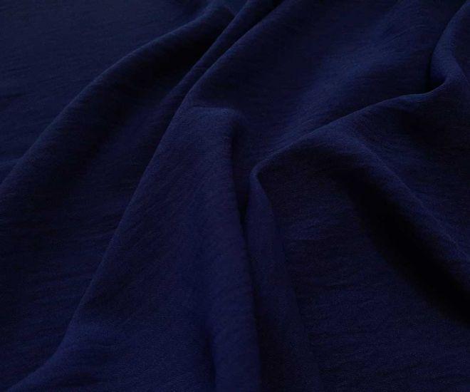 Американский креп цвет тёмно синий