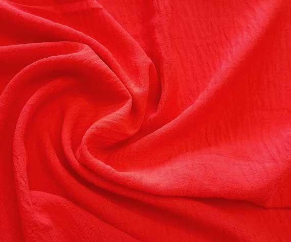 Американский креп цвет красный