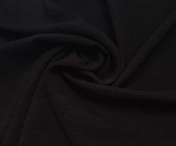 Американский креп цвет чёрный