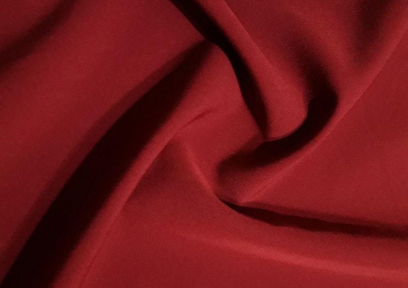Костюмка Лиза цвет бордо отрез 1,9м