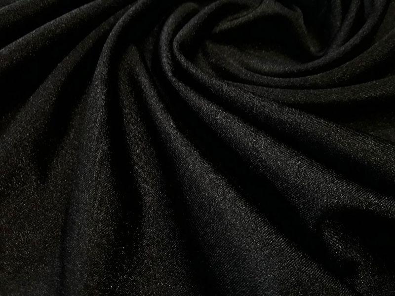 Бифлекс блестящий однотонный цвет чёрный