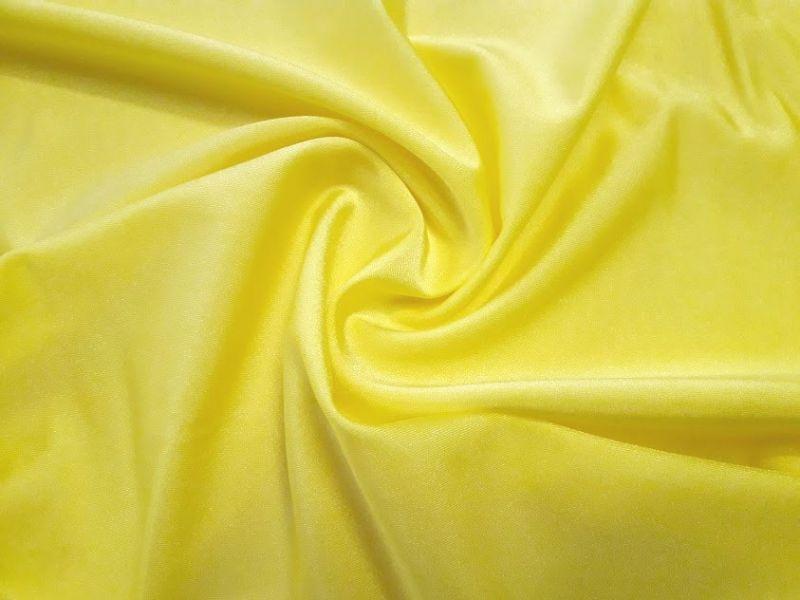 Бифлекс блестящий однотонный цвет жёлтый лимонный