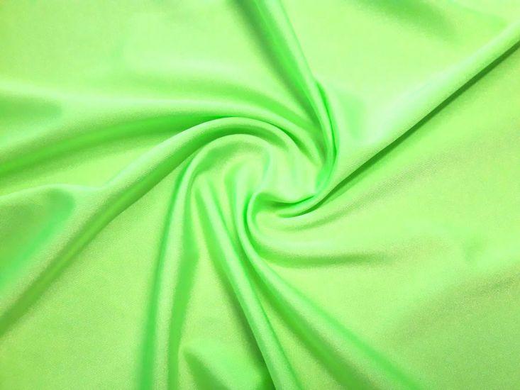 Бифлекс блестящий однотонный цвет светло салатовый неон
