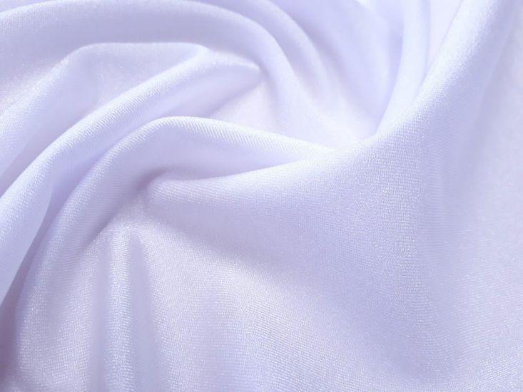 Бифлекс блестящий однотонный цвет белый