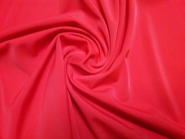 Бифлекс матовый однотонный цвет красный