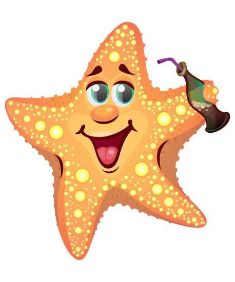 Сублимация морская звезда
