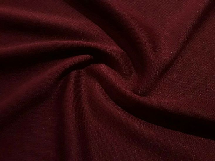 Французский трикотаж бордо (марсала) отрез 0,6м