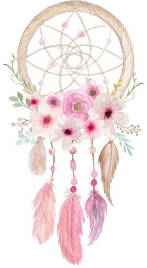 Сублимация перья цветы