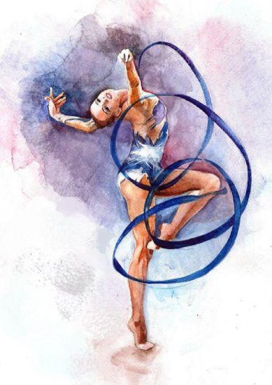 Сублимация гимнастка