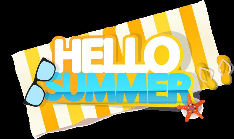 Сублимация привет лето пляж