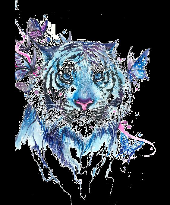 Сублимация тигр бабочки