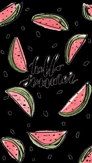 Сублимация привет лето арбузы