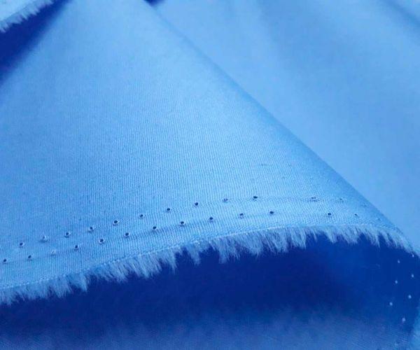 Коттон спандекс рубашка цвет голубой джинс
