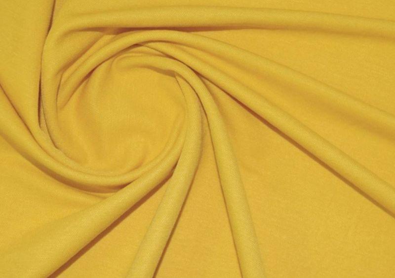 Трикотаж микролакоста цвет горчица