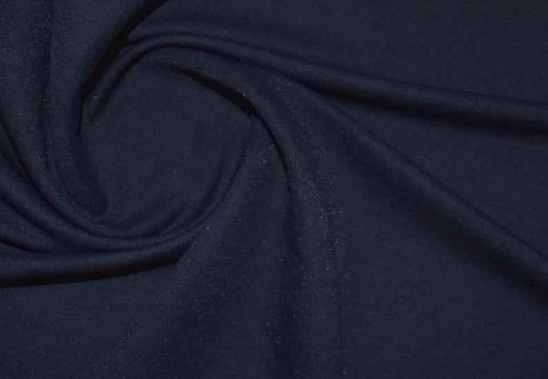 Трикотаж микролакоста цвет тёмно синий