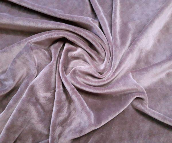 Велюр плюшевый цвет мокко