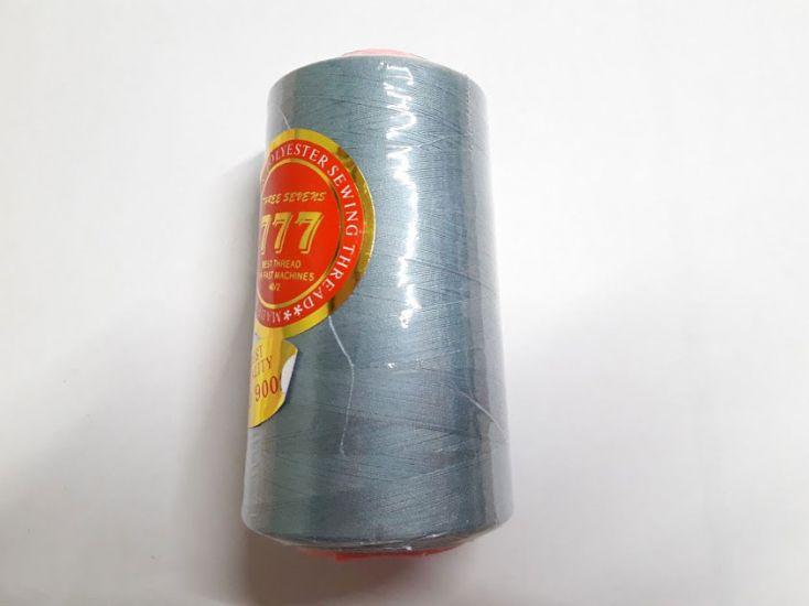 Нитки 777 цвет пыльный голубой 114