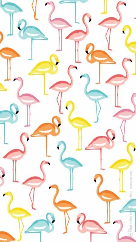 Сублимации фламинго 4