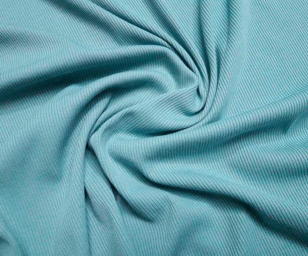 Трикотаж резинка цвет бирюзовый