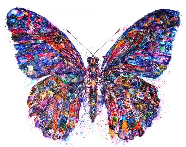 Сублимации Бабочка 1