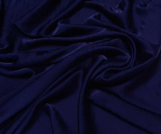 Шелк Армани полированный цвет тёмно синий