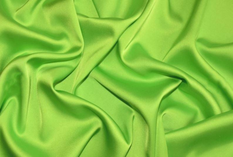 Шелк Армани цвет салатовый