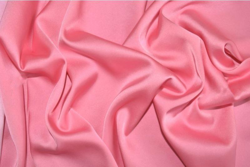 Шелк Армани цвет лососёвый розовый
