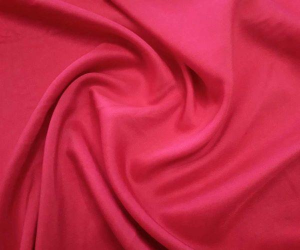 Штапель шелк цвет красный